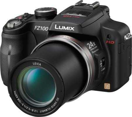 Lumix FZ100 - boasts high power zoom of 24X