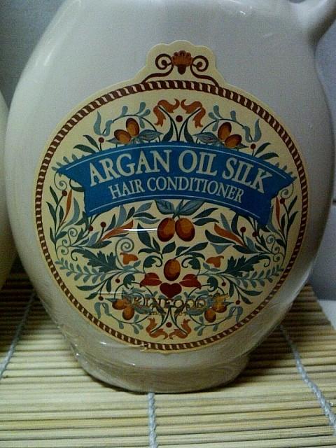 Argan Oil Silk Conditioner 390ml (Php845.00)