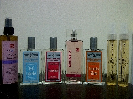 Scents shopping galore worth roughly Php1,000.00