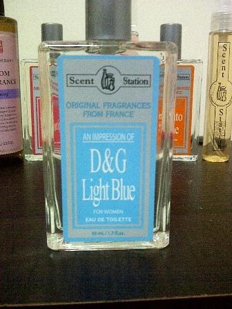 """""""Impression of D&G Light Blue (php180)"""